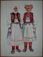 Croatia Folk Costume - Jamnica - III/11