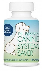 Dr. Baker's Canine System Saver by Biotrope is an all-natural herbal supplement for pets created by a veterinarian is a safe, effective and natural alternative to treating dogs with inflammatory conditions. Made with active ingredients derived from frankincense, mandarin orange, turmeric and tea. Also available in horse and cat formulas.  www.caninesystemsaver.com