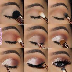 7 simple makeup tips to make your eyes burst .- 7 einfache Make-up-Tipps, um Ihre Augen zum Platzen zu bringen – Style O Check 7 Simple Makeup Tips to Make Your Eyes Burst – Style O Check …, - Eye Makeup Steps, Eyebrow Makeup, Eyeshadow Makeup, Silver Eye Makeup, Eyeshadows, Prom Eye Makeup, Almond Eye Makeup, Silver Eyeshadow, Homecoming Makeup