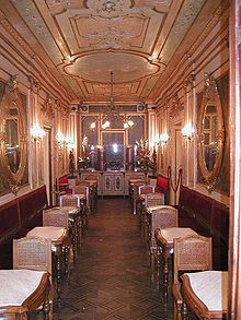 Caffè Florian…for the beautiful interior.