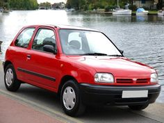 nissan micra red 1996 - Google Search Had this car for about one month, it had a engine fault, we had to get rid of it, 1996