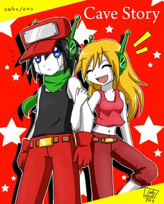 Cave Story - Quote and CurlyBrace by Lady2011.deviantart.com on @DeviantArt