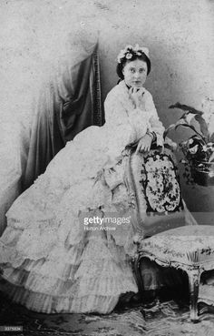 QUEEN VICTORIA of the United-Kingdom and Ireland (c. 1865)
