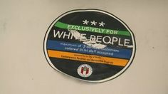 "Someone is posting stickers that say ""exclusively for white people"" on businesses in the Texas capital of Austin. And the mayor is not amused."