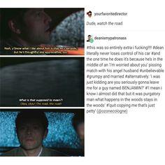 supernatural tumblr textpost post destiel season 12 dean winchester castiel cas sam winchester
