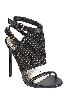 Well now... these embellished stiletto sandals are pretty amazing!