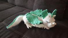 Baby Knitting Patterns Toys The crochet pattern for dragon girl Aquamarina includes 28 pages in PDF-For . Crochet Diy, Crochet Amigurumi, Amigurumi Patterns, Crochet Dolls, Baby Knitting Patterns, Crochet Blanket Patterns, Dragon En Crochet, Crochet Dragon Pattern, Crochet Mignon