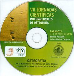 Osteopatía: de la excendeica académica al éxito clínico. Conferencias monográficas pie y postura - CD. http://kmelot.biblioteca.udc.es/record=b1428792~S12*gag