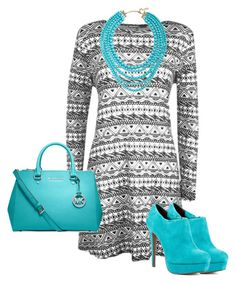 """Untitled #34"" by shaziwazi on Polyvore featuring WearAll, Blink, R.J. Graziano and MICHAEL Michael Kors"
