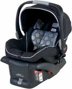 Britax B-Safe Infant Car Seat - Black - Free Shipping