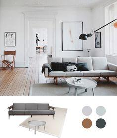 Skandinavischisches wohnzimmer - http://www.my-homemate.com/tipps-fur-den-skandinavischen-wohnstil/