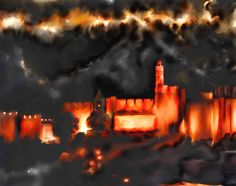"""JERUSALEM STORMING Pray for the peace of Jerusalem! """"May they be secure who love you! Peace be within your walls and security within your towers!"""" Psalm Jerusalem is a port city on the shores of eternity. Psalm 122, Psalms, Jerusalem, Towers, Poet, Blessed, Spirituality, Peace, City"""
