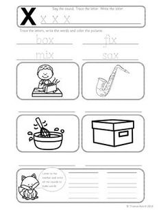68 Best Jolly Phonics Group 6 Activities, Worksheets and Printouts ...