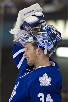Finding Bigfoot, Atlantis or Waldo would be easier than discovering who the Leaf goalies will be Thursday night against the Flyers. James Reimer, Finding Bigfoot, Maple Leafs Hockey, Toronto Star, Hockey Stuff, Thursday Night, Field Hockey, Toronto Maple Leafs, Hockey Players