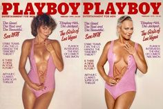 #MagLove 23 June 2017 — the best magazine covers this week — Playboy reenactment with Candace Collins.