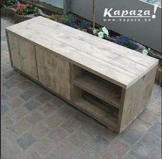 Steigerhout Tv meubel 120x40x45 149 PROMO