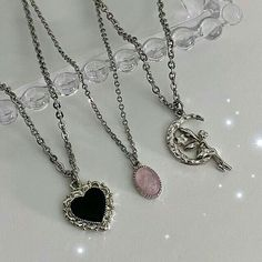 Nail Jewelry, Cute Jewelry, Jewelry Rings, Jewelry Accessories, Ring Necklace, Pendant Necklace, Grunge Jewelry, Accesorios Casual, Swagg