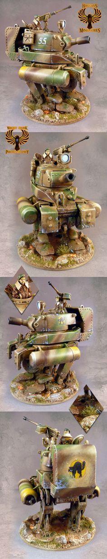 Dust Tactics Amphibious Medium Walker