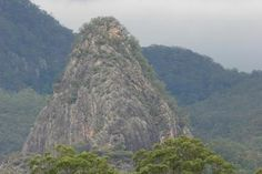 'Kurraragin' (Egg Rock) is one of the many volcanic features shaping the park's landscapes. Lamington National Park, Binna Burra, Gold Coast