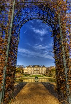 Rodin Chateau, Paris.  Alex's dream vacation once she graduates high school:)