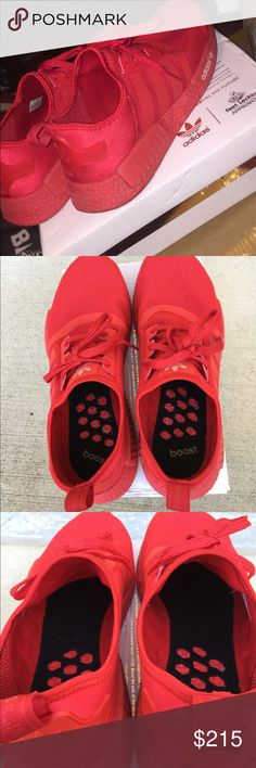 Adidas Triple Red NMD's SOLD adidas Shoes Sneakers