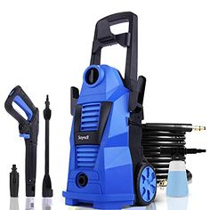 Amazon has the Suyncll Electric Pressure Washer Power Washer 2.4GPM 1400W High Pressure Washer Car Washer Machine with Adjustable Nozzle Soap Bottle for Homes, Cars, Driveways, Patios and Garden (blue) marked down from $169.98 to $84.99. That is $84.99 off retail price! TO GET THIS DEAL: GO HERE to go to the product page and…