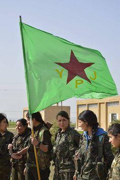 Kurdish YPG Women Fighters