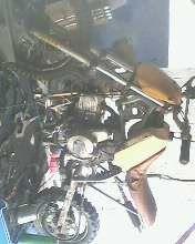 adaptaçao de motor 4tempos em mini moto 2tempos