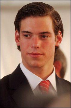 HRH Prince Felix of Luxembourg, shaggy cut......