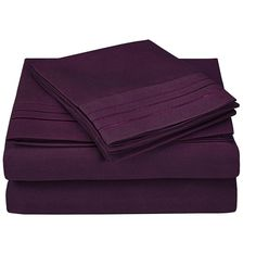 3000 Series Microfiber Sheet Set with Embroidery Luxury Sheets, Indoor Outdoor Furniture, Best Deals Online, Bed Sheet Sets, Flat Sheets, Pattern Fashion, Luxury Homes, Mattress, Embroidery
