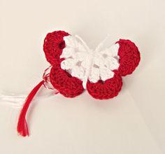 Martisor Fluturas in de merica Breslo Crochet Mandala, Irish Crochet, Activities For Kids, Crochet Earrings, Projects To Try, Spring, Crafts, Jewelry, Manualidades