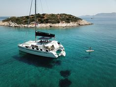 Sailing vacations in Greece. Yacht charters in Greece, Athens.gr to find the best sailing Greece charters yachts and catamarans and sailing cruises in the Greek islands. Sailing Greece, Greek Sea, Sailing Cruises, Greece Vacation, Catamaran, Greek Islands, Seas, Athens, Highlights