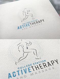 physical therapy logo and identity branding women small business