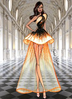 FASHION ILLUSTRATIONS by ARMAND MEHIDRI. — Haute Couture by Armand Mehidri…