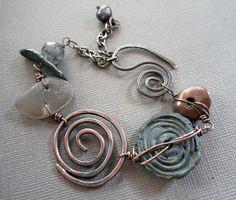 Shades of Dusk Bracelet от stacilouise на Etsy