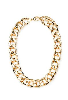 Curb Chain Necklace | Forever 21 - 1000181357