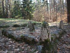 Der Kosbacher Altar, eine rechteckige Steinsetzung aus der Laténezeit