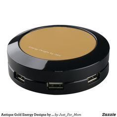 Antique Gold Energy Designs by Janz USB Charging Station