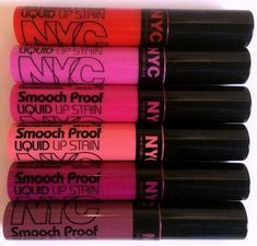 Spotted: NEW NYC New York Color Smooch Proof Liquid Lip Stains (and More)