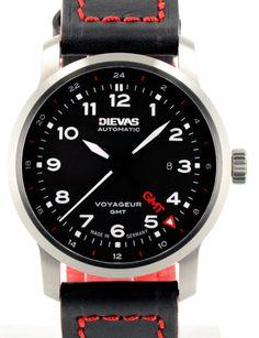 Dievas Watches - Voyageur GMT
