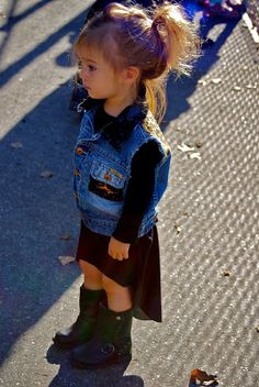toddler with swag! I just died! I hope I'm half as awesome as this mom! Check out her blog!