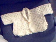 Easy Baby Crochet Sweater