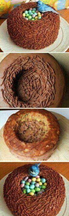 Bird nest #cake