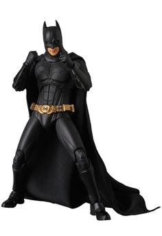 "Official Images & Info For The 6"" MAFEX Batman Begins Movie Batman Figure From Medicom"
