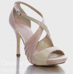 Jen + Kim Luna Women's Dress Shoes and Bridesmaid Shoes in Rose