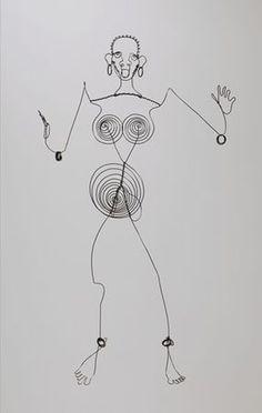 Josephine Baker (III) - Alexander Calder. one of my favorites Calder pieces