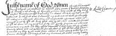 Transcription: Last Will and Testament of Richard Chatterton of Canby, Lincolnshire, 1657.