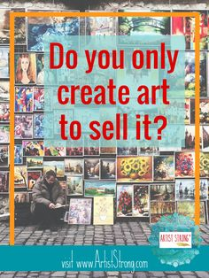 So many artists feel rejected when they decide to market their art & it doesn't sell. I've felt it, too. It brings up another question: is your art any good?!