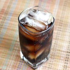 Pirate's Float drink recipe - Captain Morgan's Spiced Rum, Root Beer Schnapps, Cola