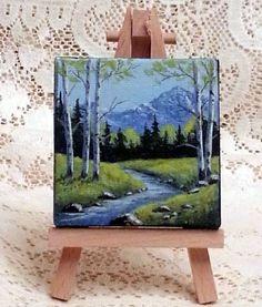45 Artistic Miniature Painting Ideas